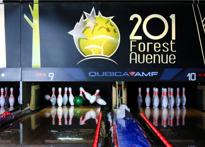 201 FOREST AVENUE – BOWLING – LASER GAME