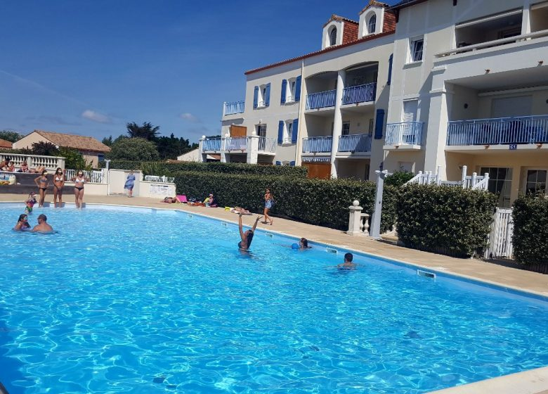 Appartement dans résidence avec piscine à Bretignolles sur Mer