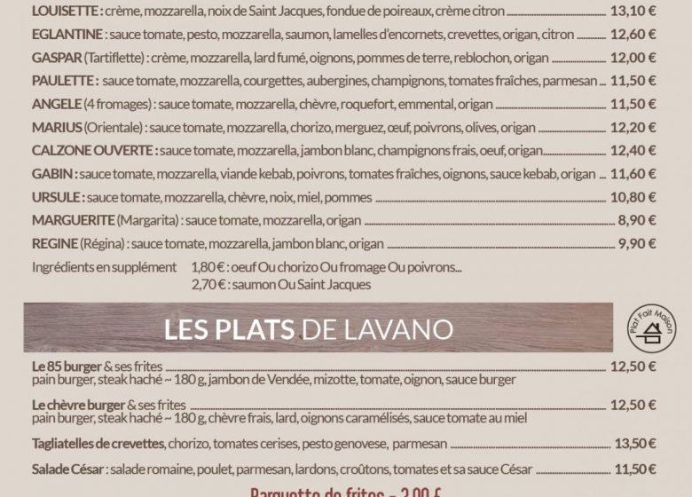 RESTAURANT LAVANO